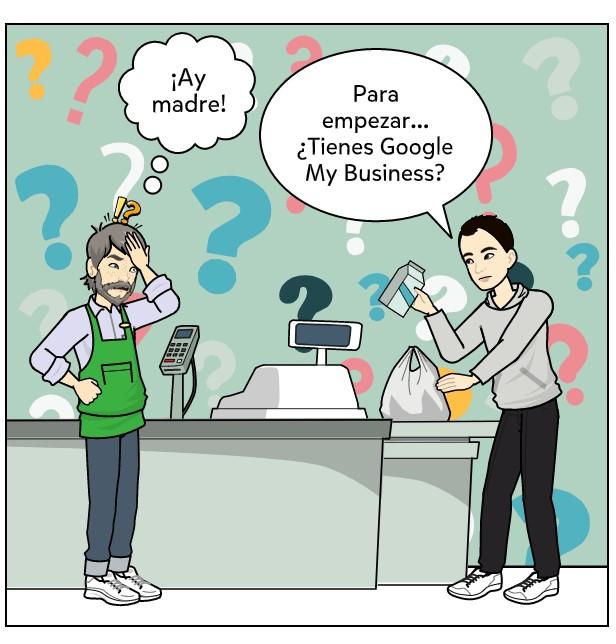google my business para tienda