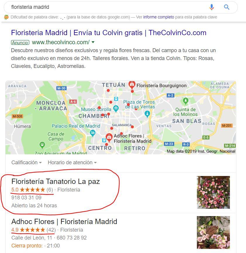 Autoridad Google My Business