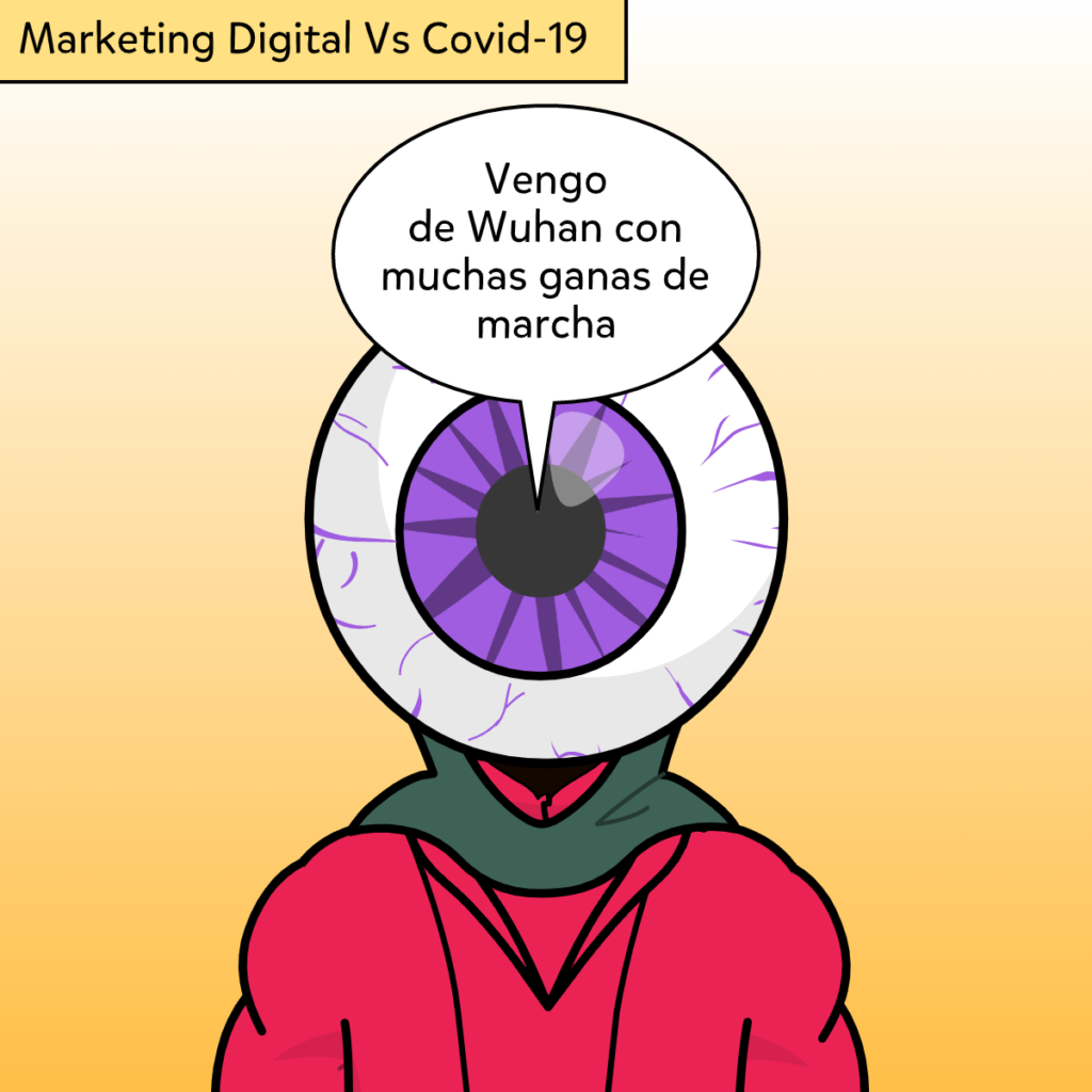 Marketing Digital contra Coronavirus